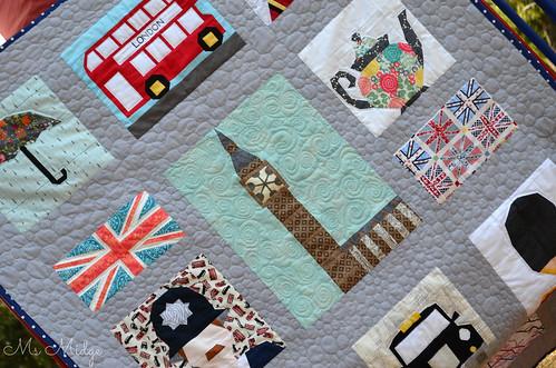 London Calling Quilt