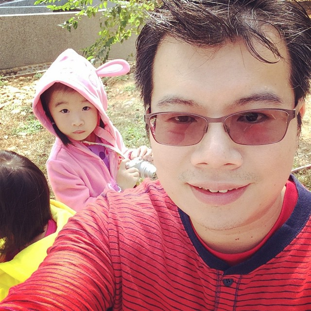 #selfie #daughterandfather #東海大學