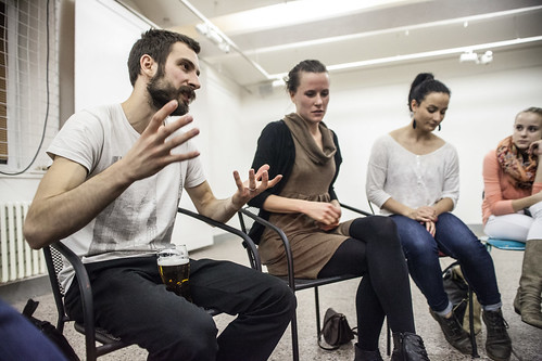 Diskuze s Martinou H. Lacovou s Stano Dobákem
