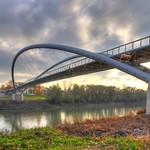 Híd ősszel