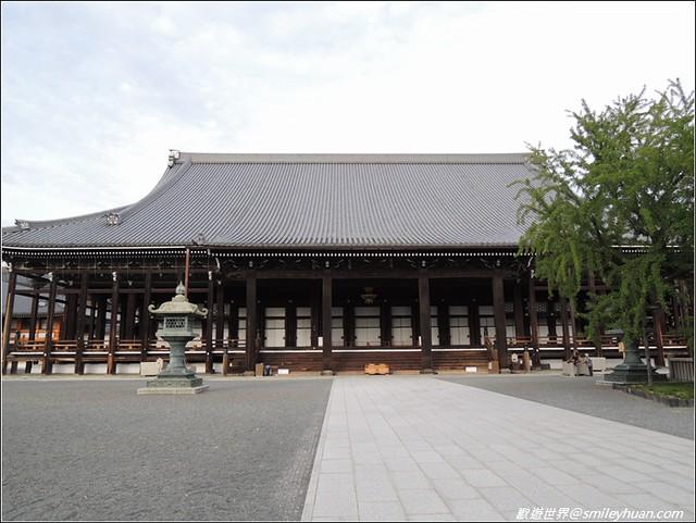 西本願寺。御影堂