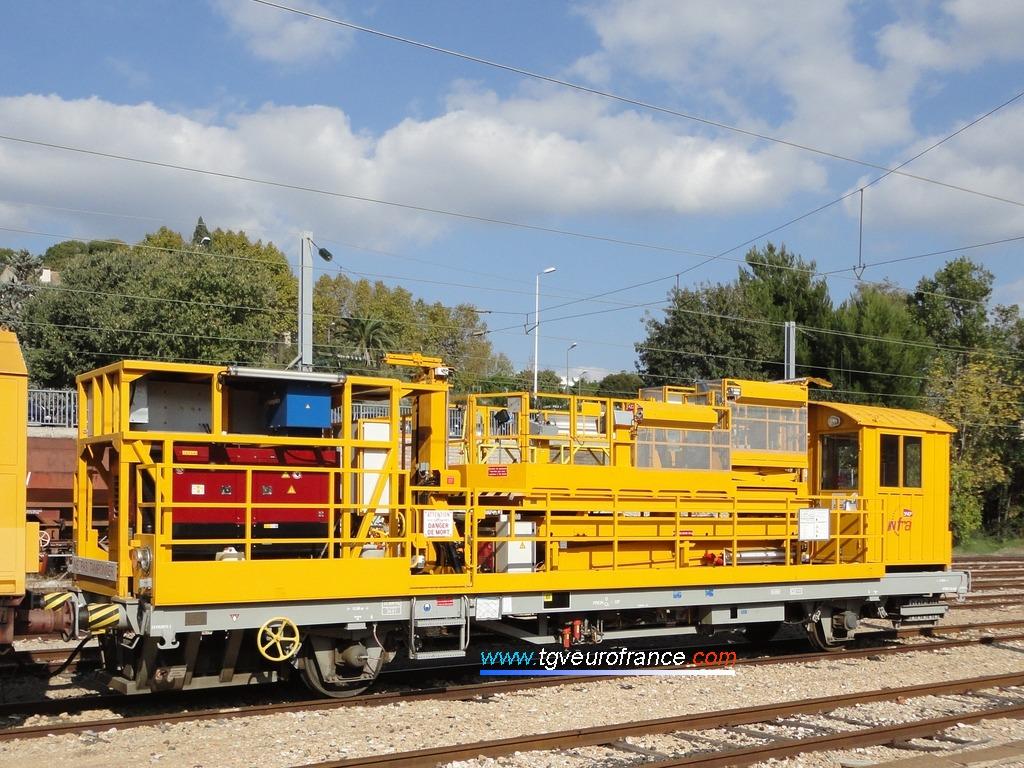 L'APMC 05 d'INFRA SNCF de la région de Marseille