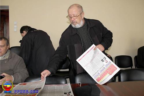 Конференция Волынской областной организации Партии Пенсионеров Украины - Луцк 16.12.2014 г (23)