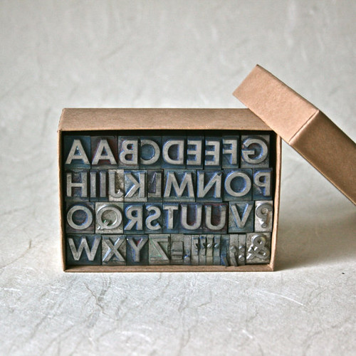 Letterpress Type Set