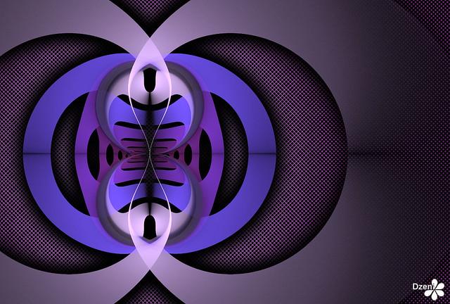 Purple Paper Weave