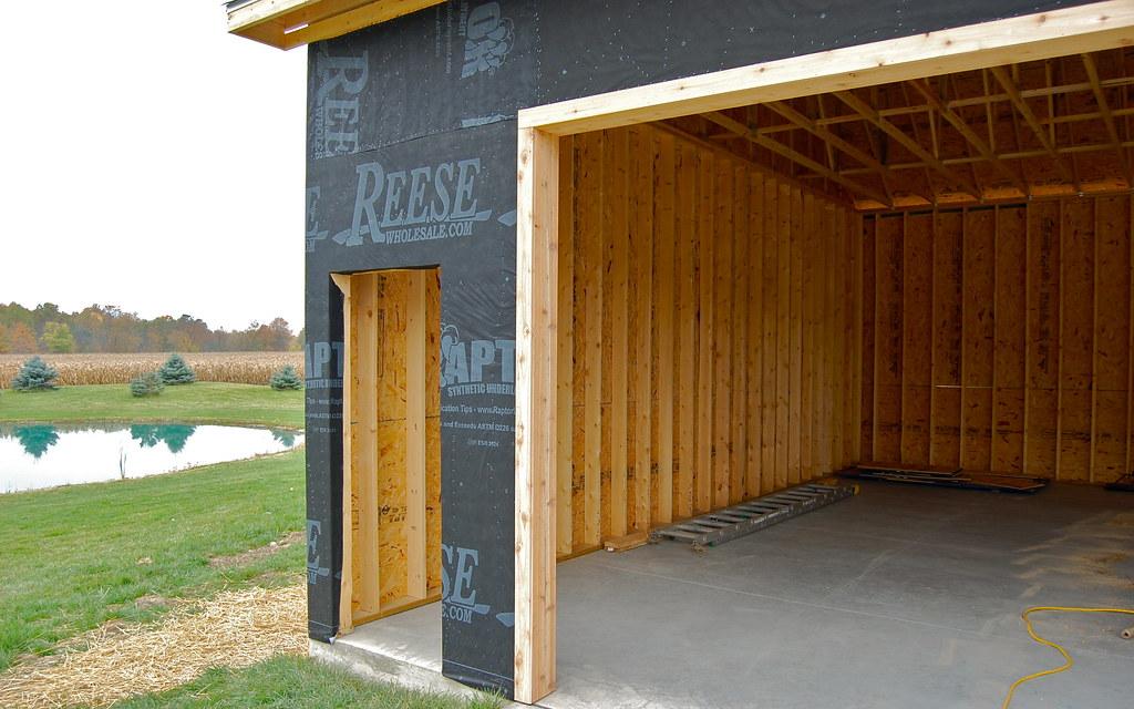 Father/Son Garage Build - The Garage Journal Board