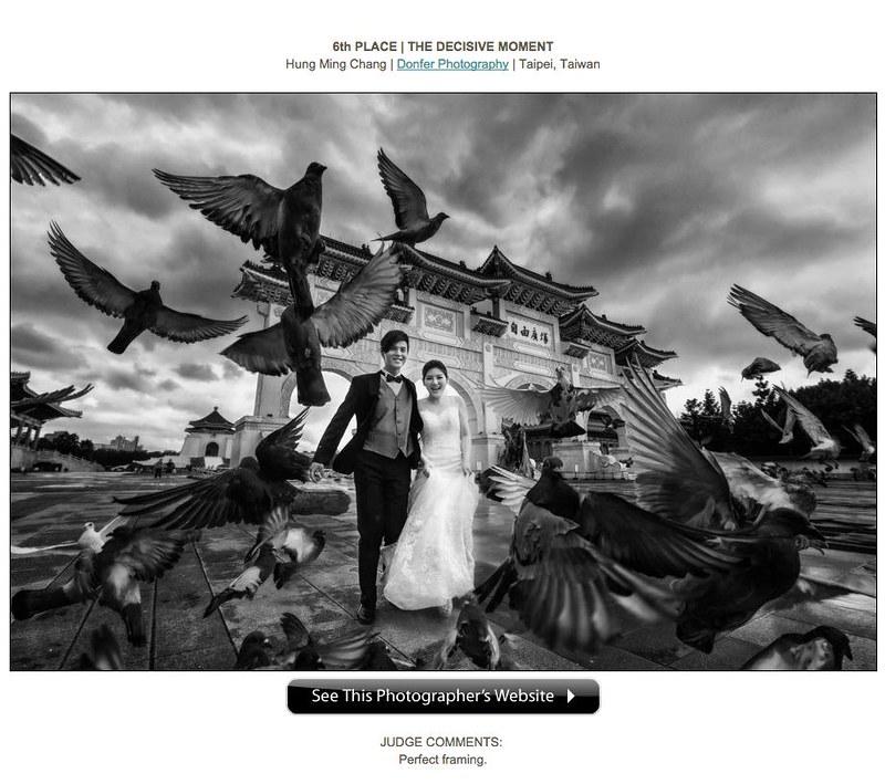 自主婚紗, 海外婚紗, 婚禮紀錄, ISPWP, 國際婚禮協會, 國際比賽, 婚攝東法, 獲獎攝影師