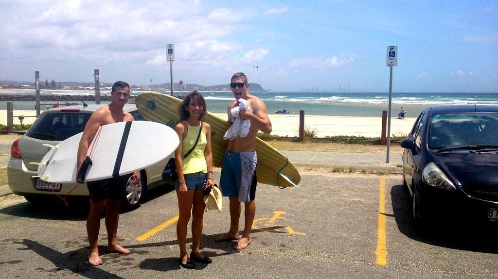 gold coast - sea sun sand hunks!