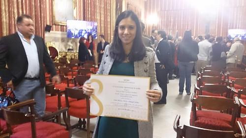 AionSur 15946135675_1193ffe1b1_d La joven Blanca María Pedregal recibe el Premio a la Excelencia otorgado por el Ayuntamiento de Sevilla Educación