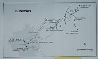 Ilinizas Map