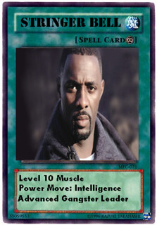 Stringer Bell Magic Card