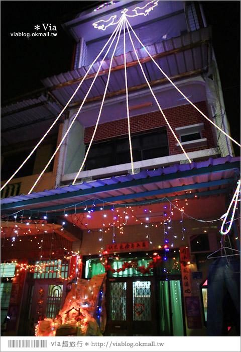 【萬金教堂】屏東萬金教堂聖誕季~3D光雕秀+耶誕地景藝術/全台最濃耶味小鎮!47