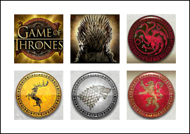 free Game of Thrones - 243 Ways slot game symbols
