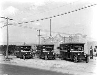 Buses of the Miami Transit Company - Miami