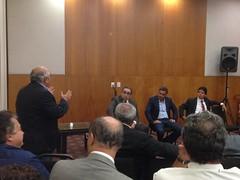 encontro dos partidos de base aliada, juntamente com o senador e presidente nacional do PSDB, Aécio Neves1
