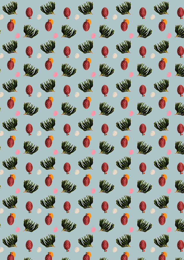 moss and magnolia pattern by laura redburn