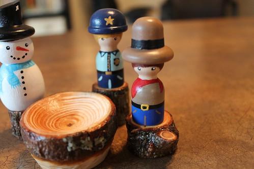 Wooden Peg People