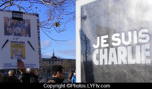 Manif Charlie Hebdo Lyon 11 janvier 2015 je suis Charlie