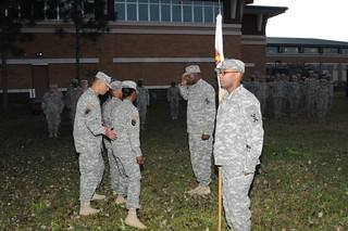 143d ESC appoints new first sergeant