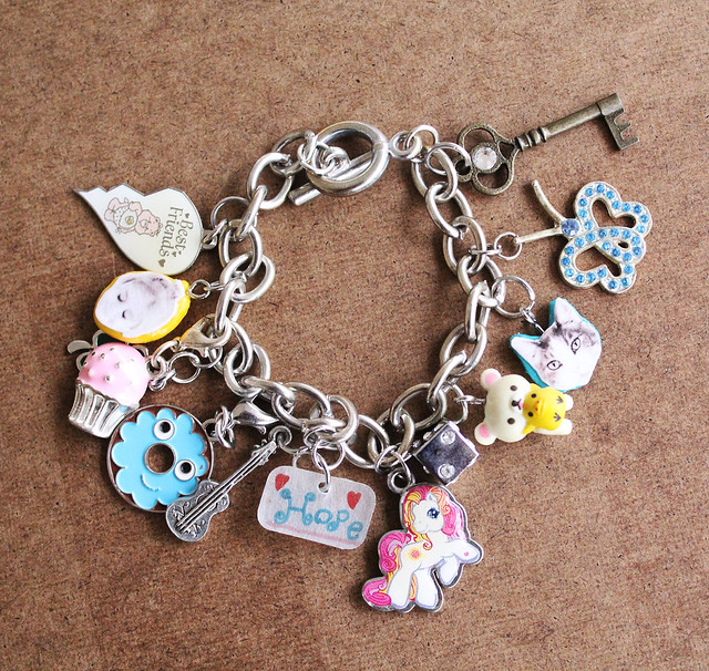 Make Your Own Clay Photo Charms