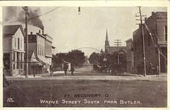 Wayne Street South from Butler