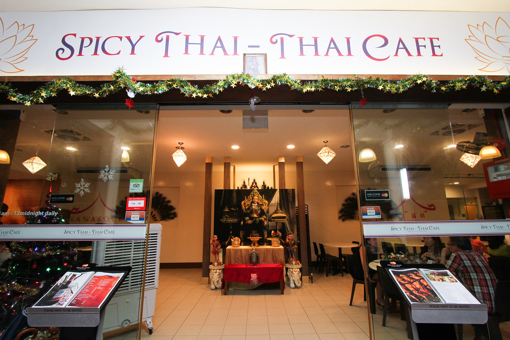 Spicy Thai - Thai Cafe: Exterior