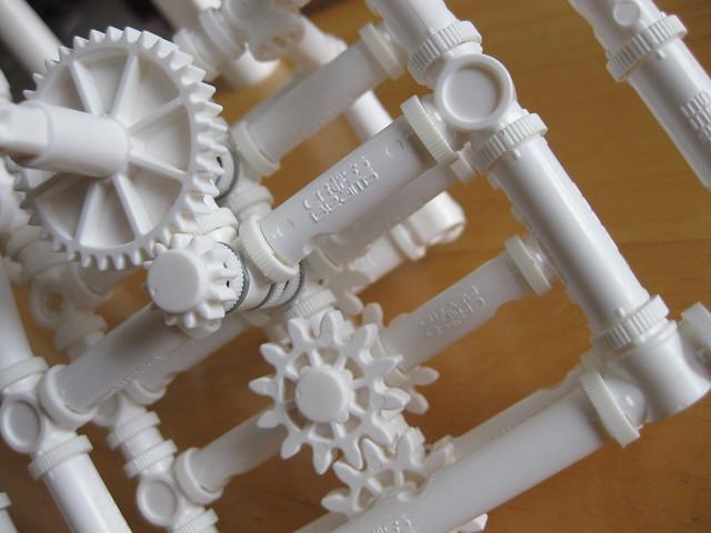 Crossbeams Building Toy