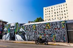 Skid Row mural