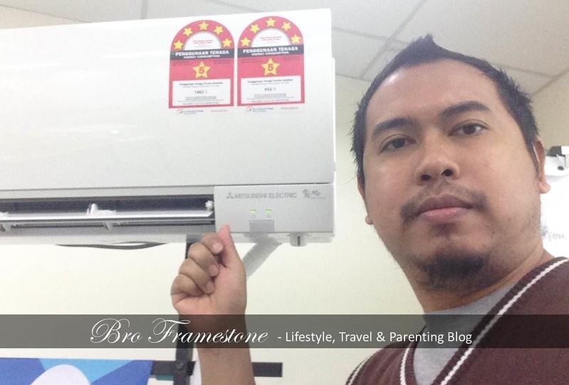 Aircond Mitsubishi Electric