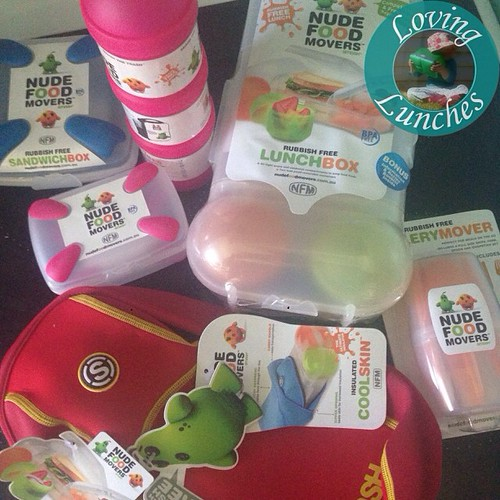 Loving mail… thank you @stuffmumslike & @smashenterprises for my #nudefoodmovement prize! Just in time for school!  #lovewinning