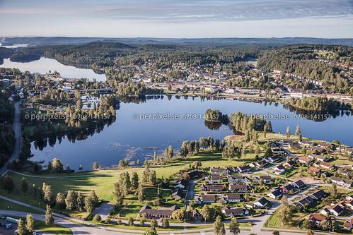 3 sverige swe västragötaland bengtsfors flygfoto sidansödra