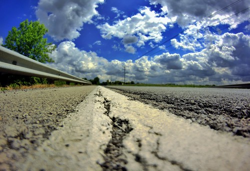 road blue ohio sky white color green beautiful beauty clouds rural canon lens landscape geotagged photography eos rebel prime spring focus midwest colorful skies afternoon country may wideangle fisheye fixed manual roads dslr geotag manualfocus browncounty app 2012 facebook 500d handyphoto smed rokinon teamcanon t1i iphoneedit rokinin snapseed jamiesmed