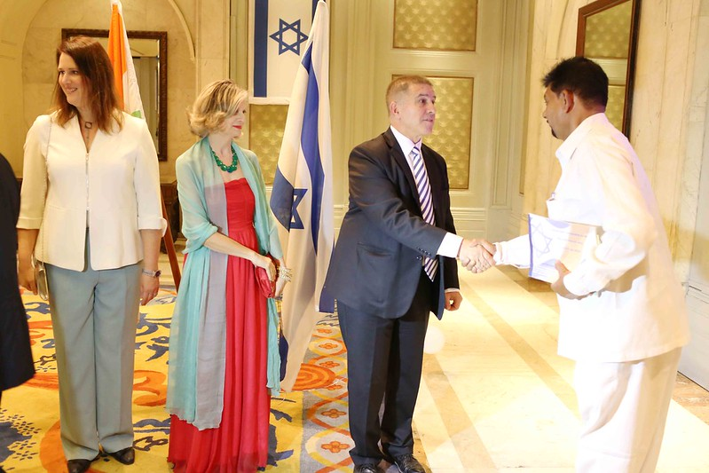 Netherfield Ball – The Ordeal of the Ambassador's Beautiful Partner at the Israel National Day Celebrations, ITC Maurya Hotel