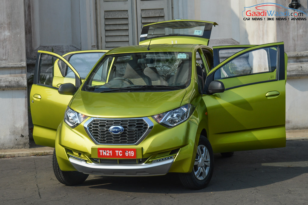 Datsun RediGo Drive Review 25