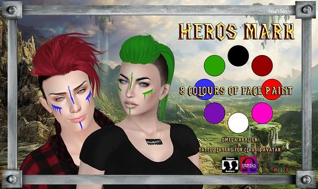 -=FORSAKEN=- Heros Mark Facepaint
