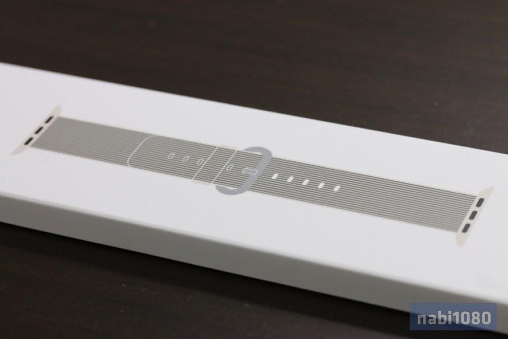 Apple Watch ウーブンナイロンバンド01