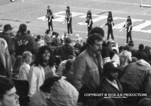 Tri-X Files 84_29.14b: One Last Crowd and Sidelines Shot, with Meena