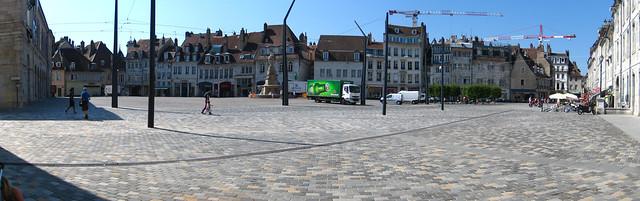 Besançon Place de la Révolution Panorama
