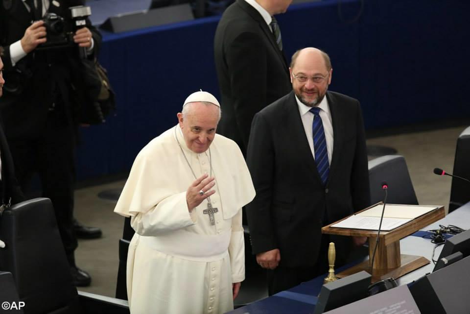 Đức Thánh Cha Phanxicô Thăm Nghị Viện Và Hội Đồng Âu Châu