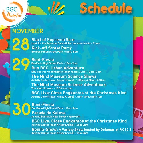 2014 Guide to Thanksgiving Bazaar & Shopping Sale this Weekend (Nov. 28-30) in Manila!