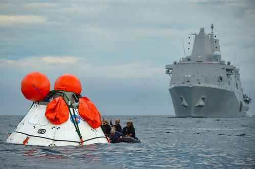 USS Anchorage Departs on NASA's Orion Mission