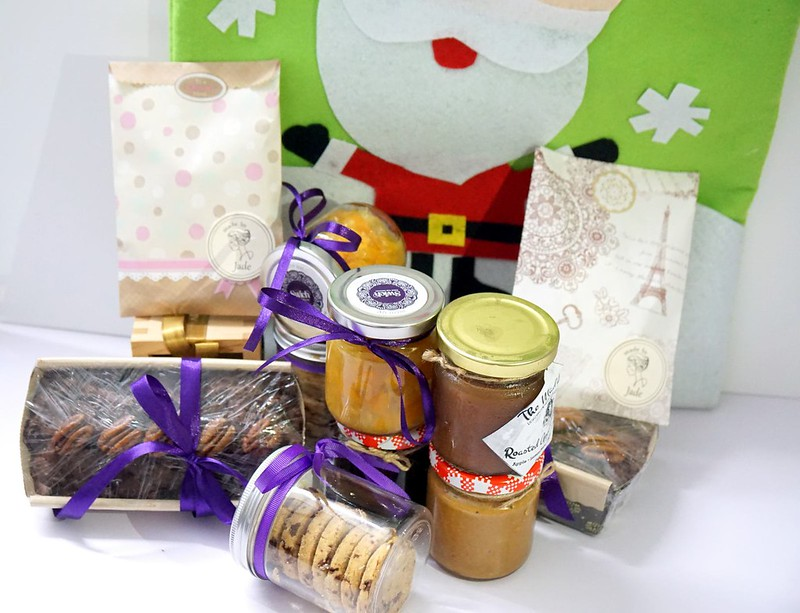 1 fitfabkitchen - Christmas hampers Santa Sacks for 2014