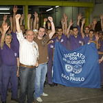 Mobilização da Categoria Metalúrgica em São Paulo