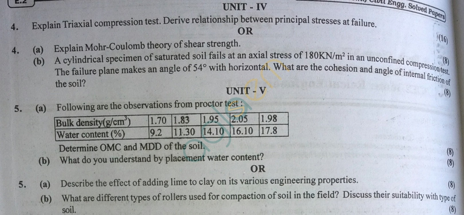 RTU: Question Papers 2013 - 7 Semester - CE - 7E4031