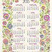 Wycinanki 2015 Tea Towel Calendar by Groovity Designs
