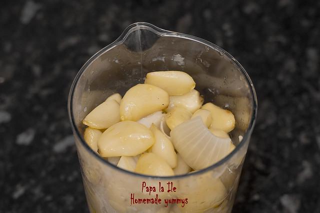 Supa crema cu usturoi copt (7)