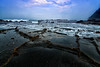 #beach #stone #wave