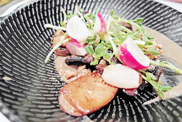 pluck salad