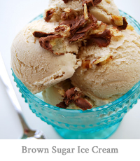 Brown Sugar-Cream Cheese Ice Cream