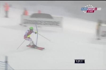 Kryštof Krýzl vybojoval v SP 25. místo ve slalomu v Levi